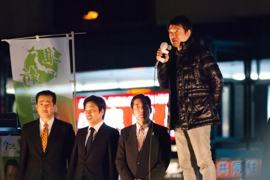 H241124 松山市街頭演説