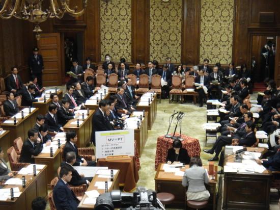 H250308 予算委員会